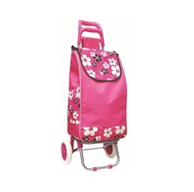 Shopping Trolley cart/Folding shopping trolley bag with 2 wheels/foldable shopping bag market trolley