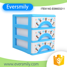 Hot selling storage products multifunctional plastic small cabinet for family