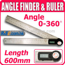Digital AngleFinder 360 Degree 2in1 Protractor Ruler Angle Meter
