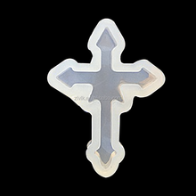High Quality Cross Shaped Jewelry Mould For Resin Jewelry Making
