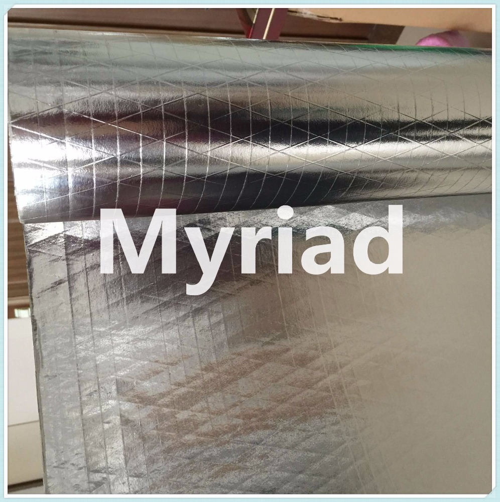 Double side Aluminum foil scrim kraft with PE coating
