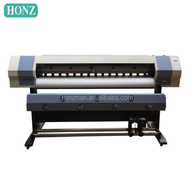 China factory OEM solvent self adhesive vinyl sticker printing machine