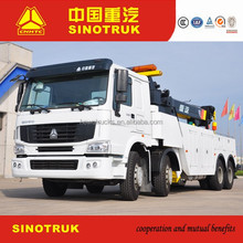 Duty heavy towing truck road recovery China wrecker howo 25ton tow truck