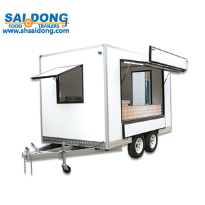Most Favorable Price mobile food cafe cart catering kiosk