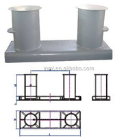Type A bollards for mooring ship marine