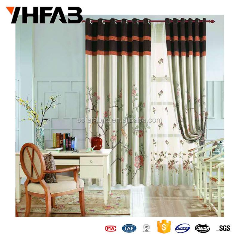 Decorative Beads Curtains/Hotel Curtain/Hookless Shower Curtain