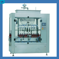Gravity-following mineral water glass, plastic bottle filling machine price