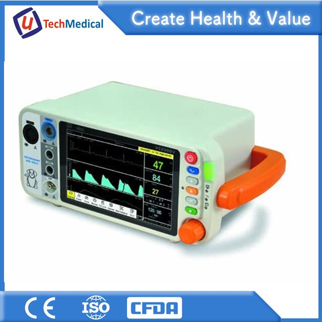 Medical Vet Clinic Multi Parameter Patient Monitor Manufacturer