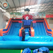Top sale inflatable castle slide inflatable bouncer slide inflatable water slide for pool