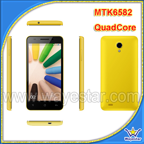 WS Mobile/4.5 inch 3G Telefone Celular Android 4.2 Two SIM Slots 1G Ram/4G Rom 5MP Camera