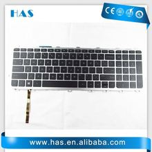 wholesale Laptop keyboard for HP Envy 17 Envy 17-1000 German Black silver frame backlit long cable
