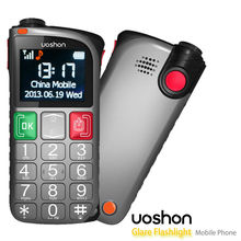 large display cell phones with emergency call button and torch light alarm emergency phone for old people