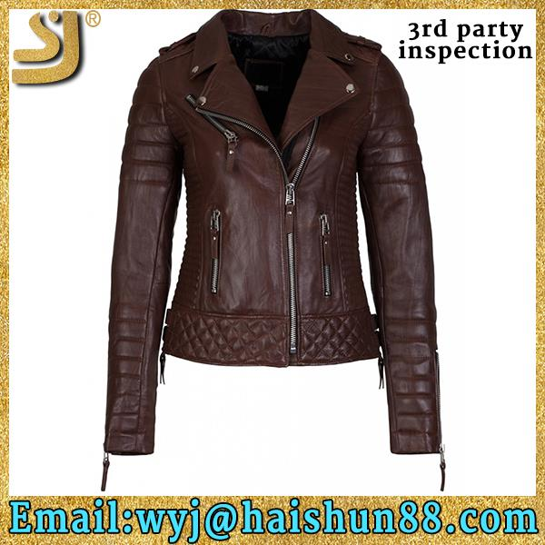 OEM factory price leather jacket for women 2016, leather jacket mens, leather jacket pakistan