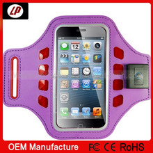 Elastic sport cell phone led armband case for iPhone 5s 5c