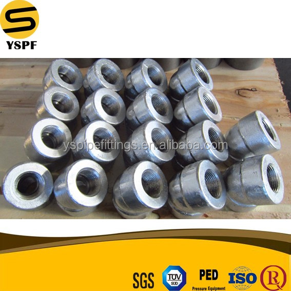 Super Duplex Oil field Gi Dimension Forged pipe fitting ASTM A694 F42 Carbon Steel Socket Welding 4'' 30 degree elbow fittings