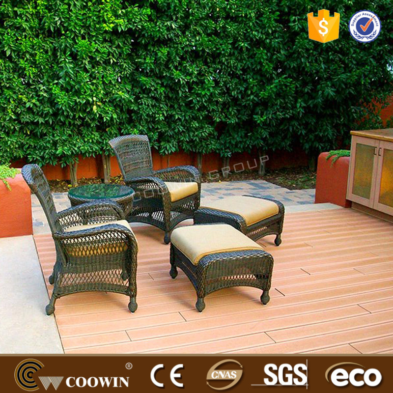 siberian larch eco wpc deck floor emboss composite decking