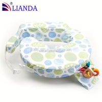 Breastfeeding support pillow for babies and mom, screen printing nursing pillows with milk bottle bag