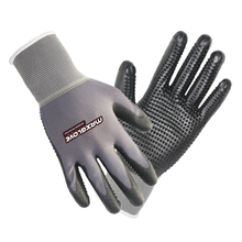 PVC dotted with 13 G polyester PU working gloves