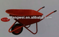 solid rubber tires wheel barrow WB8029