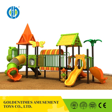 Promotional sale children outdoor playground large kid slide series