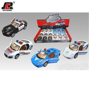 CLASSICAL Police car 1:32 Diecast Pull Back Police Car Toys