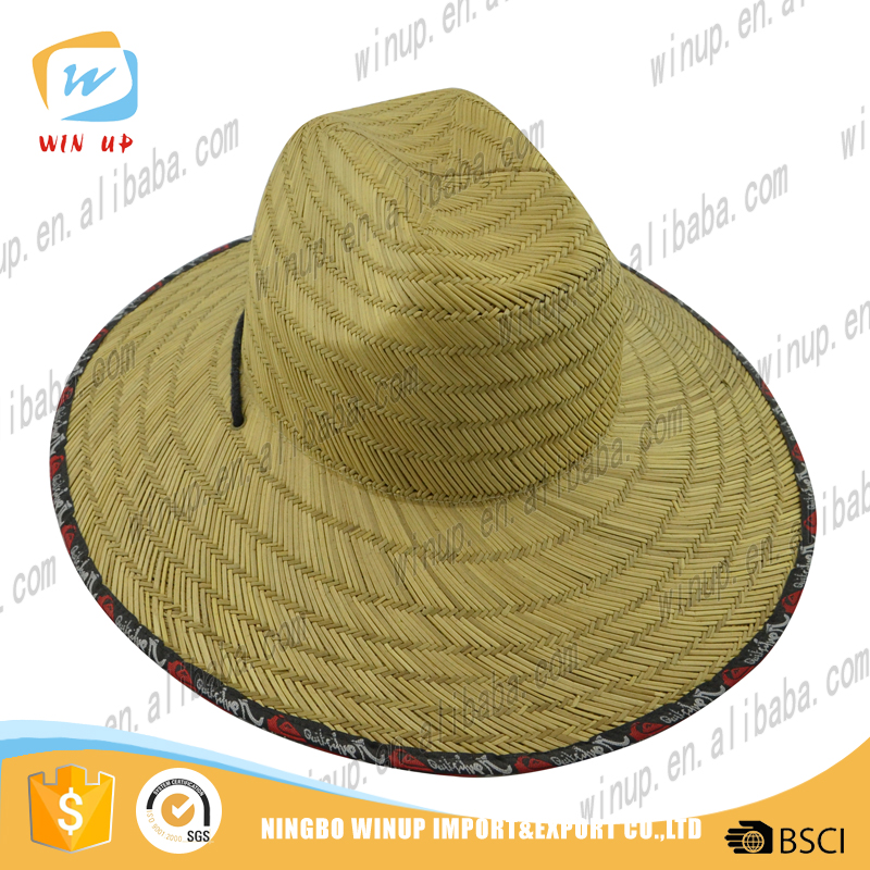 Hot sale handsome paper hat straw vase hat sombrero hat