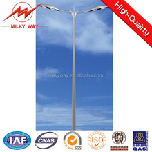 8m hot-dip galvanized steel octagon street lighting pole with wholesale price