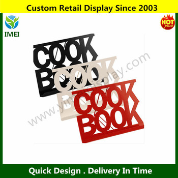 Cook book stand red black or cream enamel cook book storage stand recipe holder ym6 463 buy - Cream recipe book stand ...