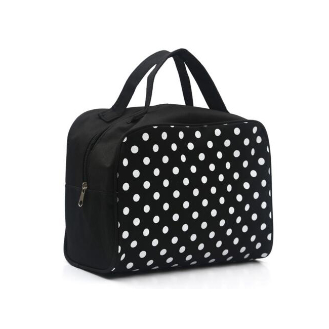Multi Functional Cosmetic Storage Dots Bags Women Makeup Bag With Pockets Toiletry Pouch
