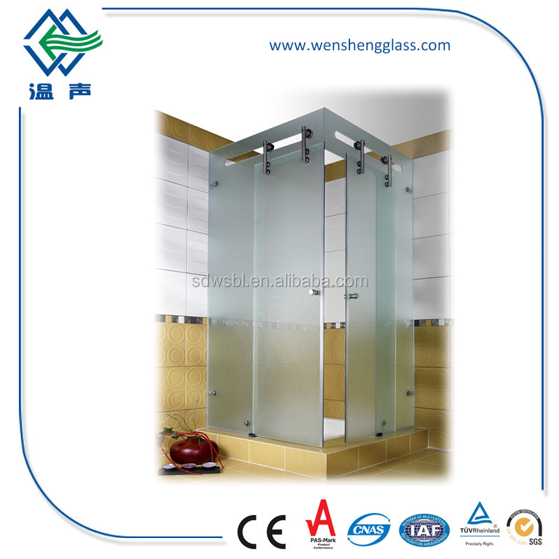Safety Toughened Glass for Shower Room