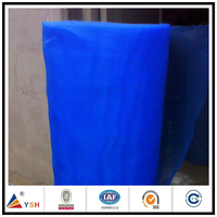 Electric insect plastic window screen