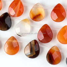 Wholesale all types of beads natural gemstone faceted top drilled teardrop beads