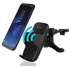 new products 2018 2 in 1 multifunction usb wall charger and car charger wireless mobile car charger for cell phone