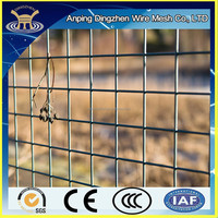 2x2 galvanized welded wire mesh panel for concrete wire mesh fence panels