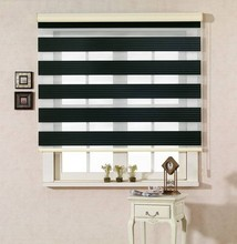 Yilian Fashionable 100% Polyester Fabric Zebra Roller Blinds