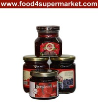 Fruit jams(strawberry, peach, orange, blackberry)