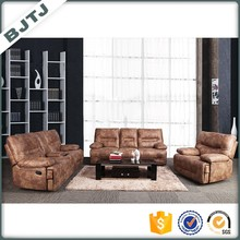 BJTJ cheap modern recliner leather function sectional sofa 70600