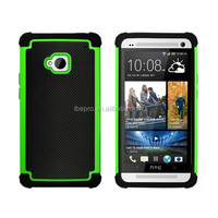 3 In 1 Dream Net Mesh Mobile Phone Combo Case for HTC One M7