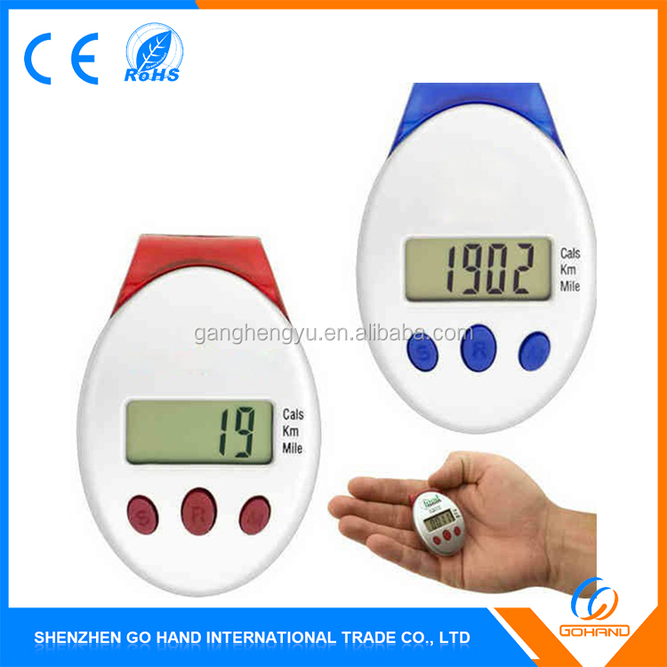 High Quality Digital Cheap Plastic Calorie Meter Pedometers