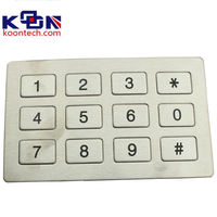 RS232 electronics controller High quality metro phone keyboard K5
