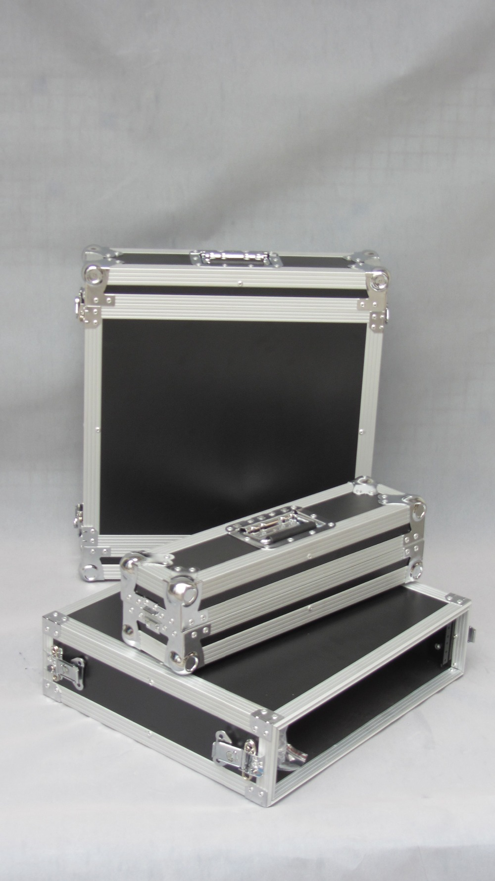 Heavy Duty aluminum flight cases rack mount computer case
