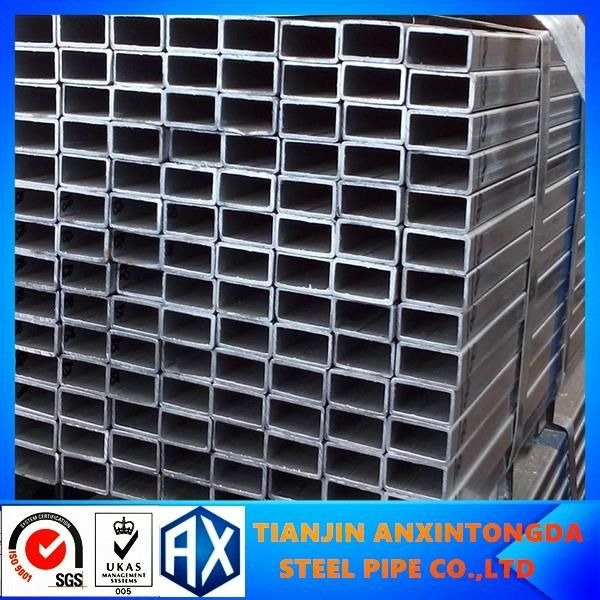 Building materials 90*90*2.5mm hot dipped galvanized steel tube!galvanized square steel pipe specifications