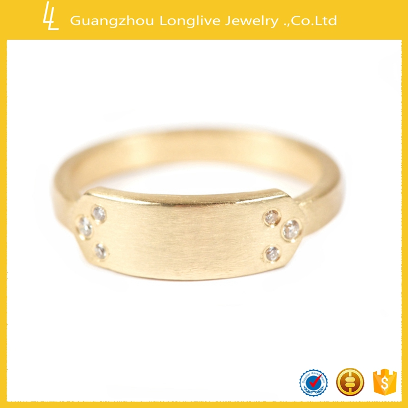 Guangzhou Longlive diamond drill bit engagement ring gold ring for men