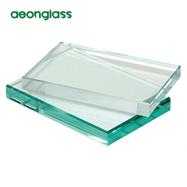 12mm bubble thk clear tempered float glass sheets