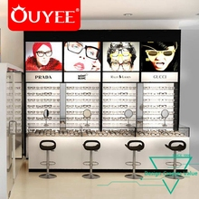 Factory Customized Store Design Vitrine Counter Display Rack Sunglasses Glasses Display Stand