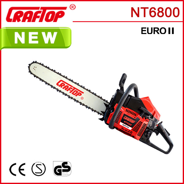 68cc 3.2kw Chain Saw Wood Cutting Machine