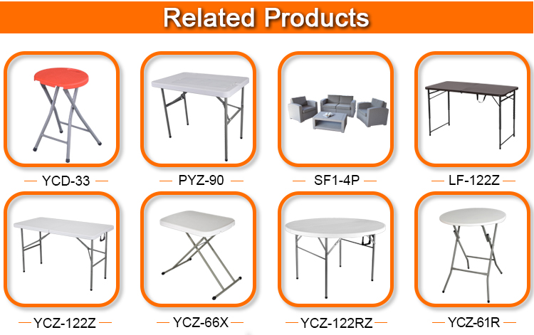 Outdoor Furniture garden plastic folding picnic table and chair