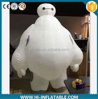 Hot sale movie / film replicas character Character inflatable baymax robot cartoon for advertising/inflatable hero