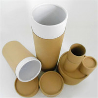 Custom paper paper tube cylinder paper color box packing box of oil tank