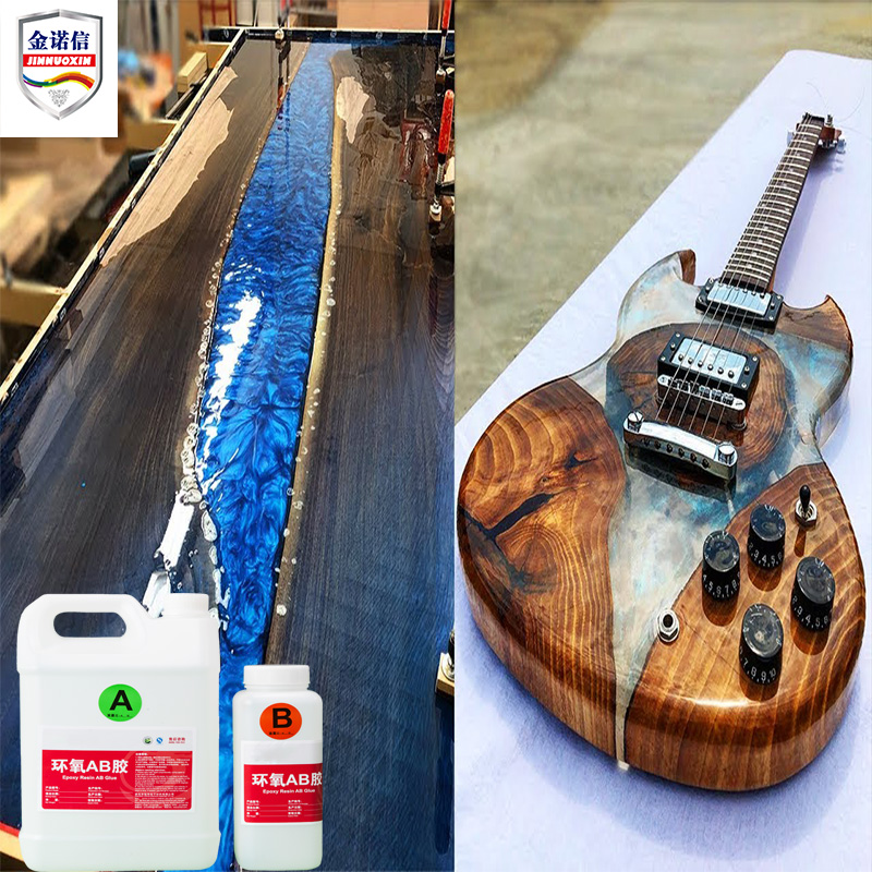 High Quality Low Cost Flexible Water Clear AB Component Epoxy Resin and Hardener 3D <strong>Glue</strong> Manufacturer for Logo Sticker